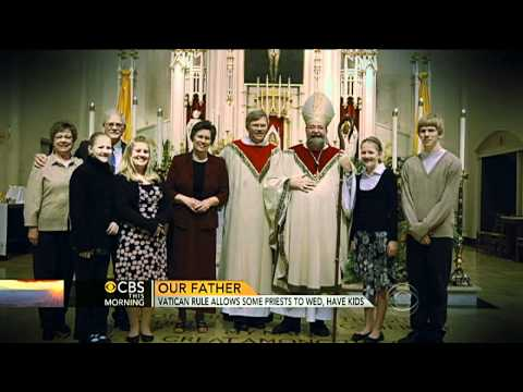 CBS This Morning - Vatican rule allows some priests to marry