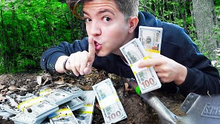I Buried $5,000 Cash and First to Find it, keeps it