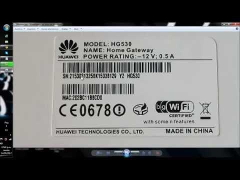 Como entrar al modem Huawei HG530 UNE