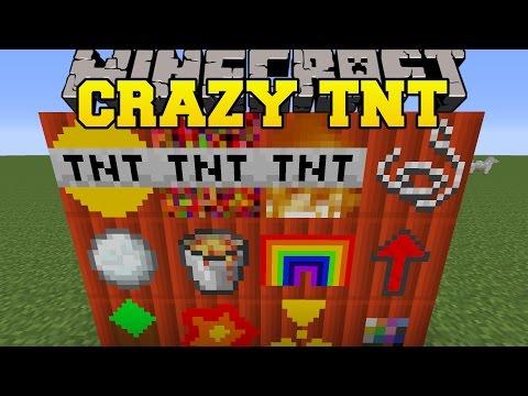 Minecraft: CRAZY TNT MOD (SO MANY NEW EXPLOSIVES!) Mod Showcase