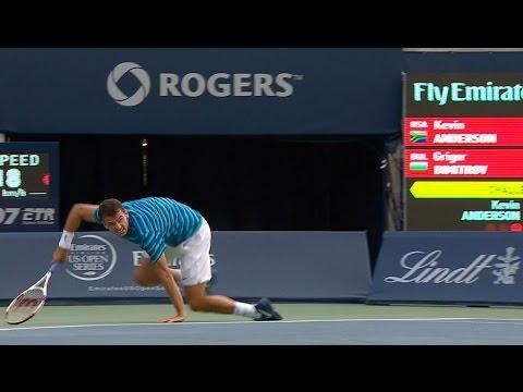 Dimitrov's Brilliant Toronto Tie-break Moments