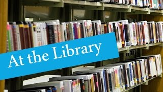 English Conversation: At the Library