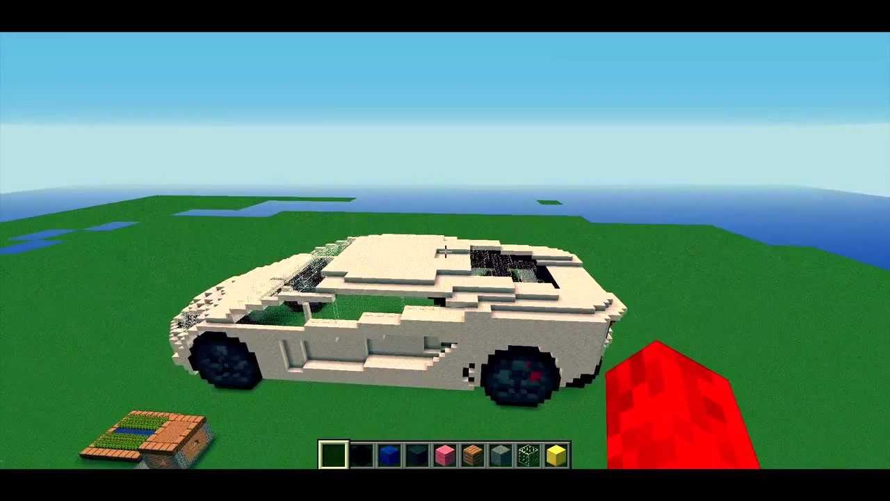 Cars Mod Minecraft