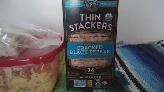 Organic Thin Stackers Rice Cake, So Crispy. Product Review