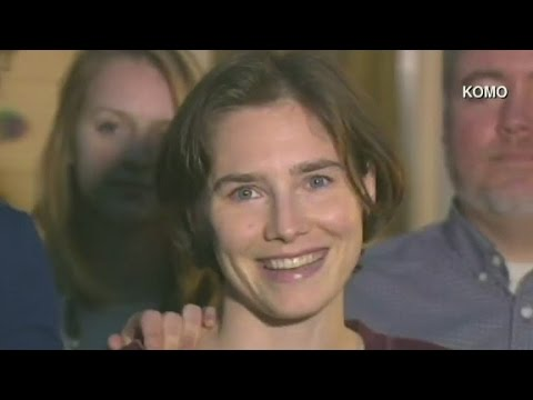 Amanda Knox: I am so 'full of joy' over verdict