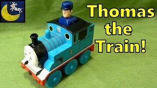 Press & Go Thomas the Tank Engine Train Toy with Pop Up Conductor!