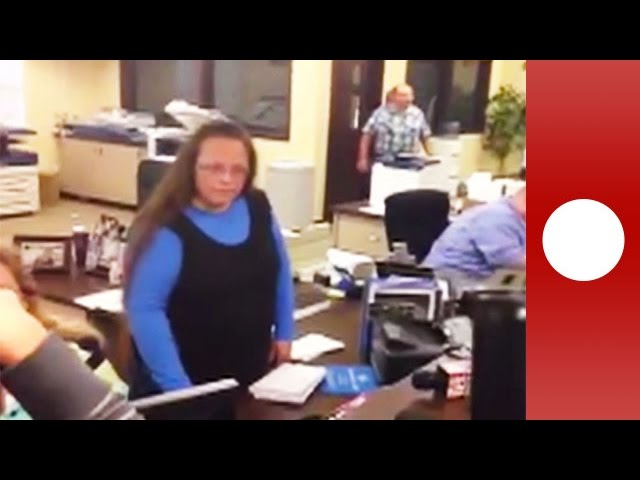 Kentucky clerk vocally refuses same-sex marriage licence