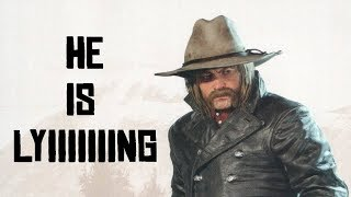 All Of Micah The Rat Dishonorable Acts And Murders Red Dead Redemption 2 (With His Epic Quotes)