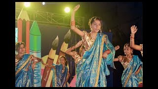 Lavani Dance Performance by Students of Vedic International School