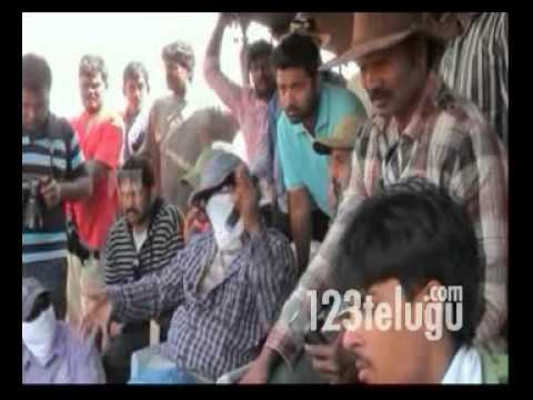 Veera Making Part1 -123telugu- Ravi Teja, Kajal, Tapsee And Others video