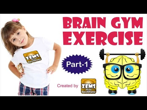 Brain Gym Exercise For Students Latest Video | Enhance Focus, Memory and Academic Skills Part 1