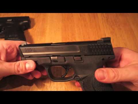 Springfield XD SubCompact .40 vs Smith and Wesson M&P .40 Compact