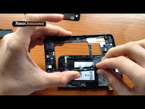 Desmontar Samsung Galaxy s2 sustitución pantalla