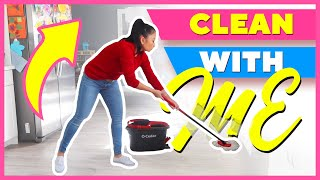 CLEAN WITH ME: HOW I CLEAN MY FLOORS!