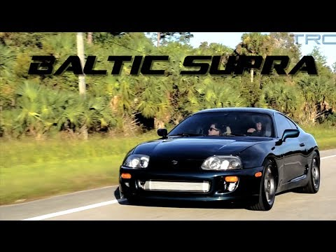 Baltic Supra goes 9's! Stock Motor - Factory Trans