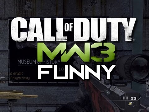 MW3 Funny Gameplay Moments - Episode 3 (Modern Warfare 3 Funny Moments)