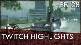 Gtamen Twitch Highlights Ep. 28: Sweet Revenge and Man Stuck on Car