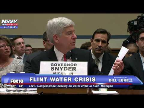 FNN: Governor Snyder Testifies at Congressional Hearing on Flint Water Crisis
