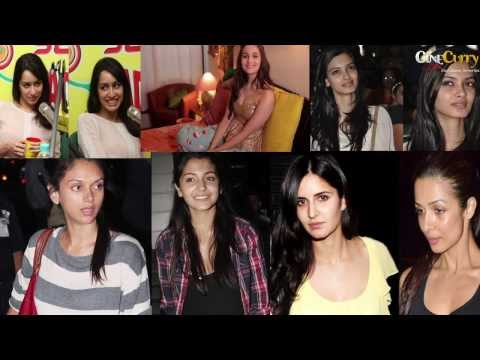 7 Bollywood Actresses Who Look Gorgeous Without Makeup│alia Bhatt, Katrina Kaif video