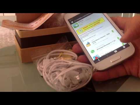 FAKE Galaxy S4 Quad Core Unboxing - MTK6589 5