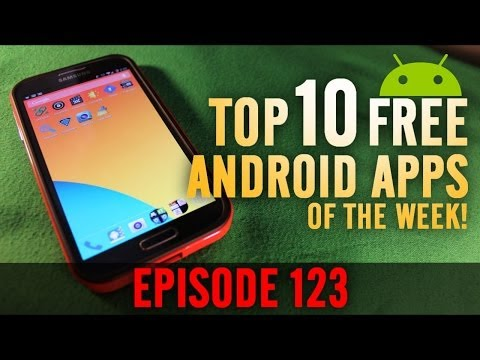 EP: 123 - Top 10 BEST Free Android Apps of the Week! Free Music,Movies, and More!