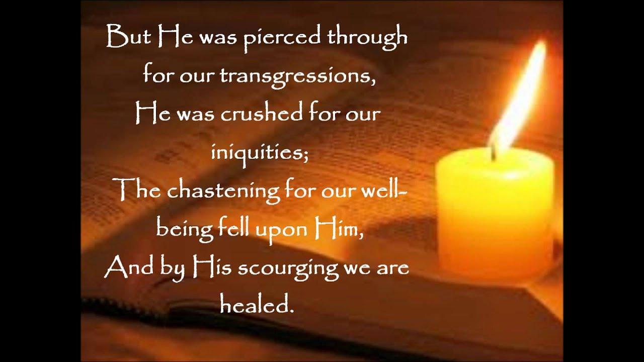 Isaiah 53 5 6 Daily Bread Isaiah 53 5 6