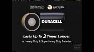 Duracell | Television Commercial | 2001 | Duck