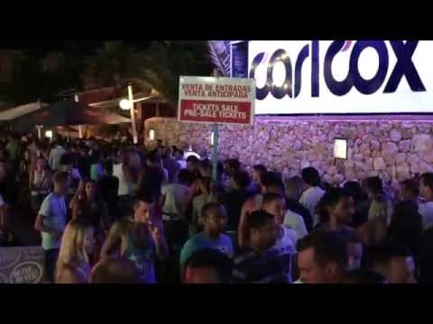 Carl Cox at Space Ibiza 2014