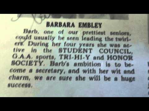 Bound Brook High School Class of 1954 Part 1