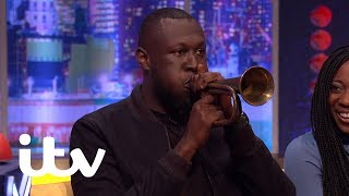 The Jonathan Ross Show | Stormzy Surprises Russell Howard With His Hidden Talent | ITV