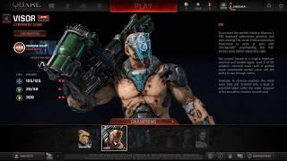 Quake Champions Обзор ЗБТ Первый взгляд Часть 1