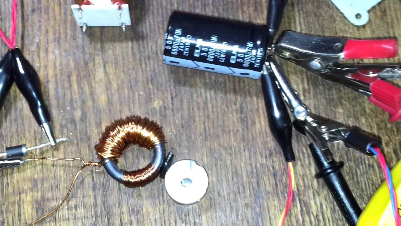 Мотор из магнита своими руками