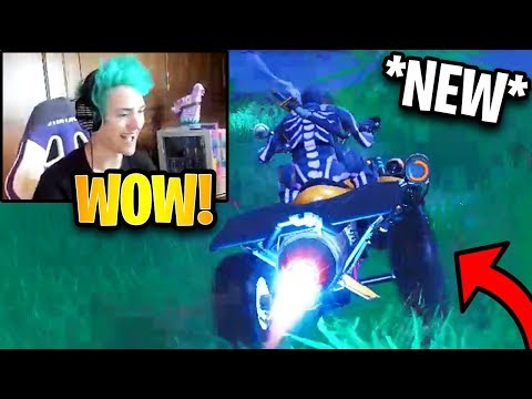 Ninja First Time Using *NEW* Quadcrasher ATV! | Fortnite Highlights & Funny Moments