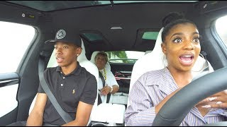 "PRANKING GRANDMOTHER WITH TESLA ON ""AUTOPILOT""!! (SHE FREAKED OUT)"