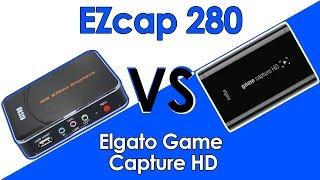 HD Capture cards: $140 vs. $66 | Elgato vs. EZcap 280