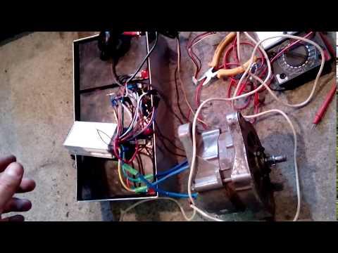 Автомобильный генератор в качестве мотора для электротранспорта