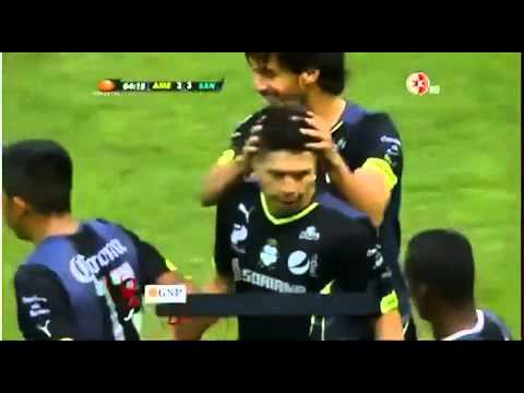 Golazo de Oribe Peralta vs América CLAUSURA 2014