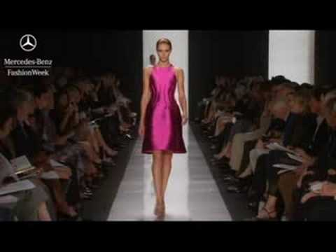 Chado Ralph Rucci Spring 2009 runway show, Mercedes-Benz Fashion Week