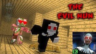Monster School :THE EVIL NUN HORROR GAME CHALLENGE - MINECRAFT ANIMATIONS