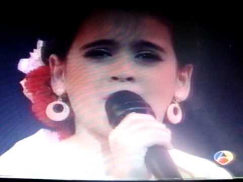 Menudas estrellas-Tamara Flores imita a Marifé de Triana (En tierra extraña)