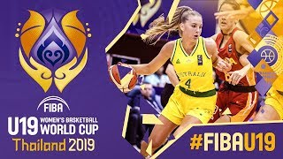 Australia v Spain - Full Game - FIBA U19 Women's Basketball World Cup 2019