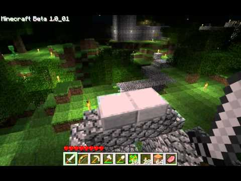Minecraft Beta - My test drive of Survival Multiplayer Beta 1.0