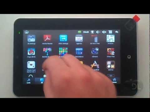 Tutorial Calibrar tela - Smart Tablet DL