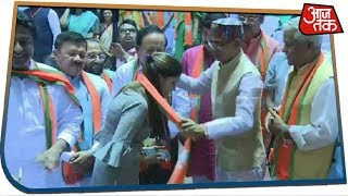 डांसर Sapna Chaudhary अब करेंगी नेतागीरी, BJP में हुईं शामिल