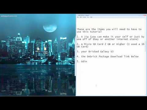 How to Un(Hard/Soft)Brick a Samsung Galaxy S3 AT&T I747 Android 4.3 JellyBean