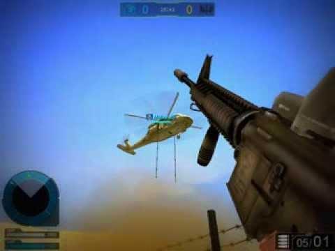Como subir al helicoptero de side winder