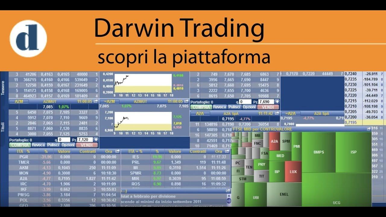 """Cosa trovo nella piattaforma di trading """"Darwin"""" - YouTube"""