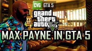 GTA 5 Gameplay - Max Payne in Grand Theft Auto 5