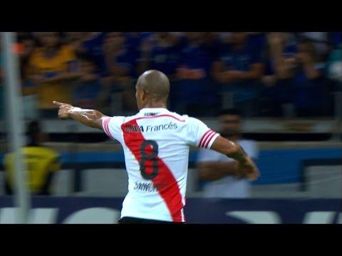River Plate defeats Cruzeiro 3-0 in Mineirão and advance to Copa Libertadores semifinal (3-1 on agg) --- Copa Libertadores 2015 - Quarterfinal - 2nd Leg Cruzeiro (BRA) 0x3 River Plate (ARG)...