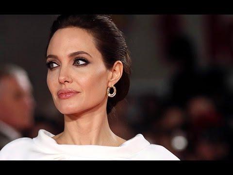 Angelina Jolie dazzles at London premiere of Unbroken